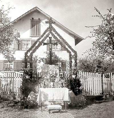Wegkreuze in Gerbertshaus Schlaetterstraße