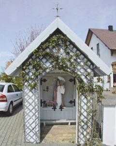 Galerie alle Wegkreuze auf einen Blick in Brochenzell, Ettenkircher Straße