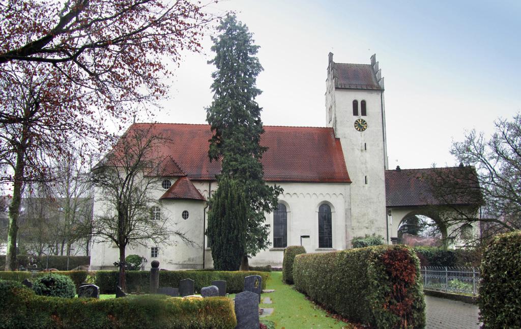 Katholische Pfarrkirche St Jakobus Brochenzelll kirche