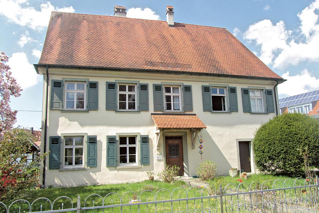 Katholisches Pfarrhaus Brochenzell Pfarrhaus