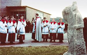 Sankt Christophorus Kehlen Weihe
