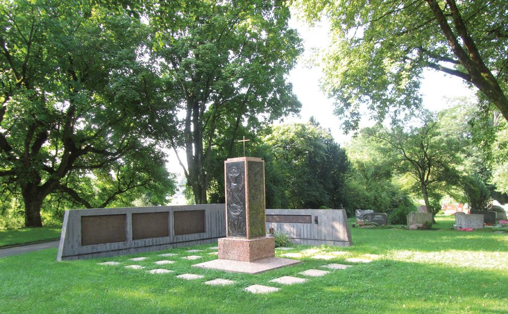 Ehrenmal und Gedenkstaette Kehlen Neuer Friedhof