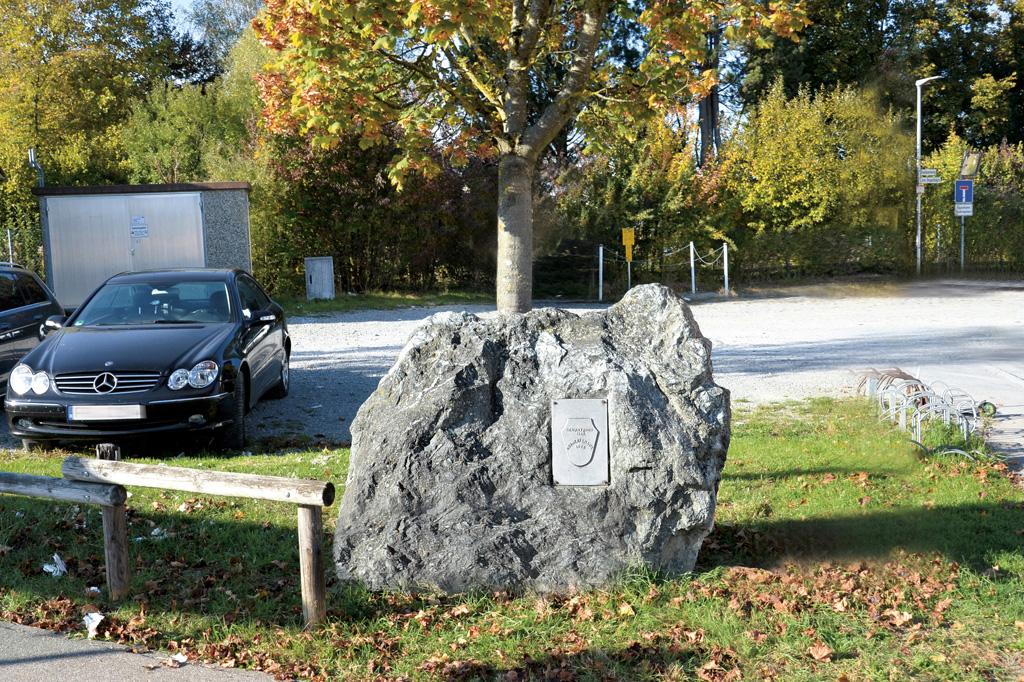 Gedenkstein Gerbertshaus
