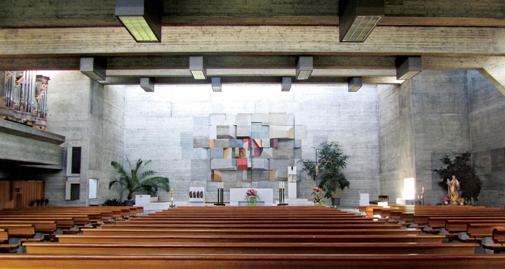 Katholische Kirche St Verena, Kehlen, Innenraum