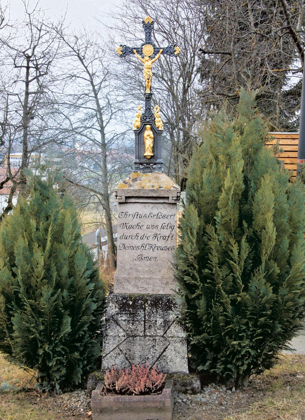 Wegkreuze in Liebenau Siggenweiler Straße