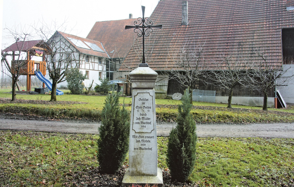 Wegkreuze in Lohner Bucherhof