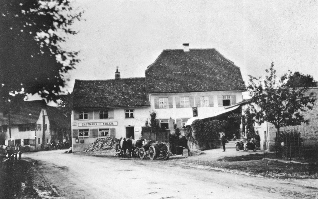 Gasthof zum Adler Meckenbeuren 1913