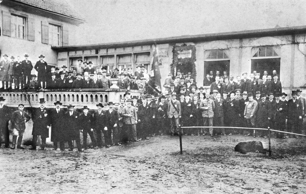 Gasthof zum Adler Meckenbeuren 1918