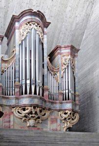 Katholische Kirche St Verena Kehlen Orgel